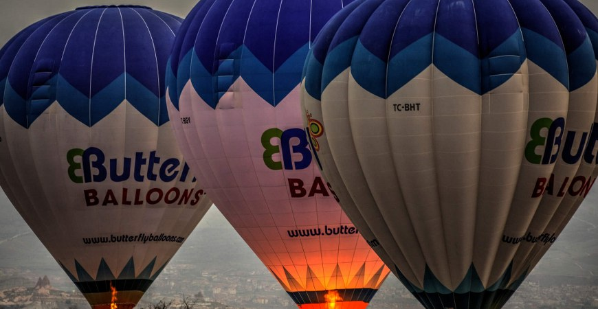 Cappadocia Butterfly Balloons