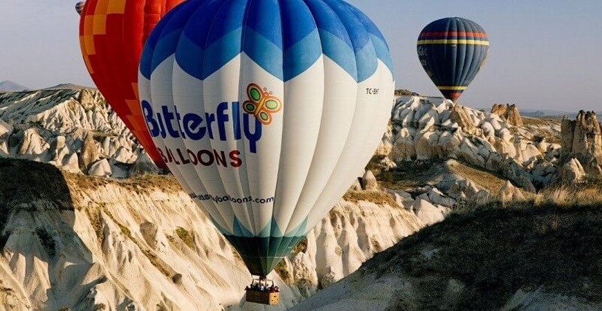Butterfly Balloons Beyond Flight