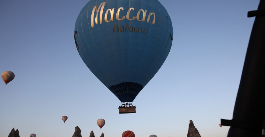 Cappadocia Maccan Balloons Vip Balloon Flight