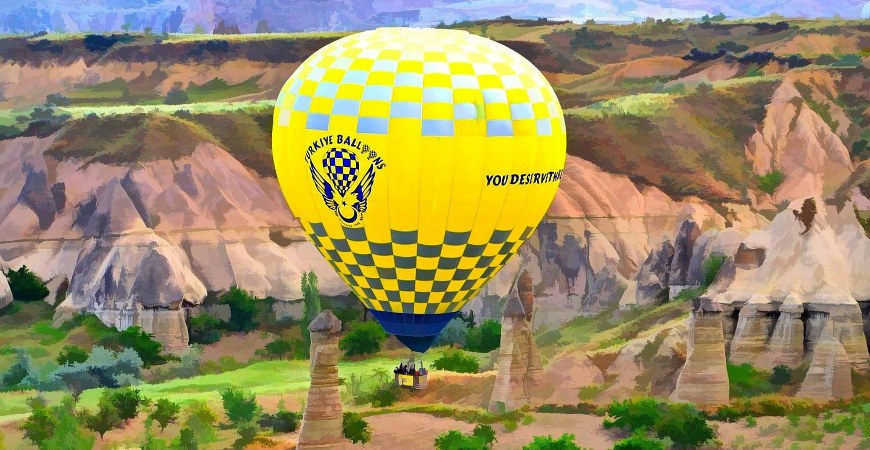 Cappadocia Turkiye Balloons Goreme Balloon Flight