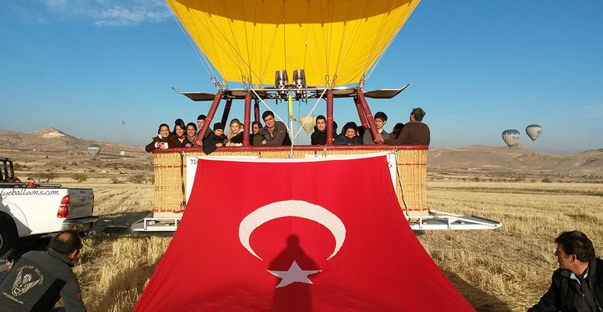 Cappadocia Turkiye Balloons Cappadocia Balloon Flight